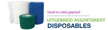 Disposables vanaf nu netto geprijsd 12-2018