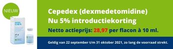 Cepedex 5% introductiekorting